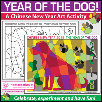 Chinese New Year 2018 Free Coloring Pages By The Imagination Box - Coloring-pages-for-chinese-new-year