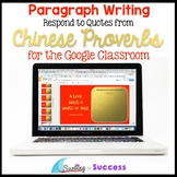 Chinese New Year: Respond to Chinese Proverbs for the Goog