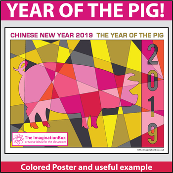 Chinese New Year 2019 Free Coloring Pages