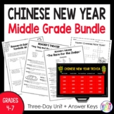Chinese New Year 2019 Middle School Research Unit