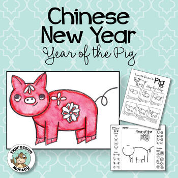 Chinese New Year 2019 Year of the Pig Art Activity