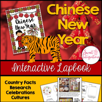 CHINESE NEW YEAR 2017 LAPBOOK; Year of the Rooster (Chines