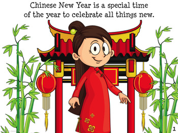 Chinese New Year an Early Reader for Prek kinder