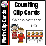 Chinese New Year 2020 Counting Clip Cards