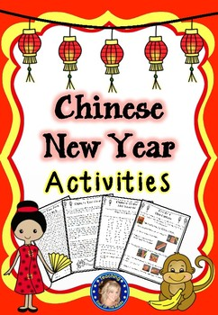 Chinese New Year Activities - Updated for 2017!