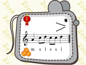 Chinese New Year - A Game for Practicing Ta Ti-ti and s,m,l (treble notation)