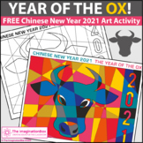Chinese New Year Activities 2021 | Free Ox Coloring Pages