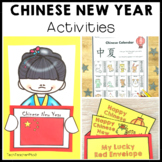 Chinese New Year Activity Pack Literacy Activities, Posters, Map and Vocabulary