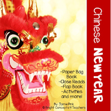 Chinese New Year {Activities, Paper Bag Book, & More!}