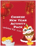 Chinese New Year Activity Pack 2019 Year of the Pig