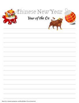 Chinese New Year Activity Pack 2020 Year of the Rat