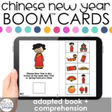 Chinese New Year Adapted Book + Comprehension Boom™ Cards