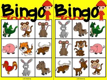 chinese new year animals bingo french and english - Chinese New Year Animal