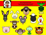 Chinese New Year Animals -- PNG Format for Personal or Commercial Use