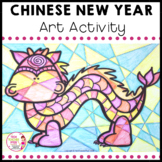 Chinese New Year Art Activity explore warm and cool colours