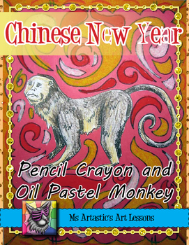 Chinese New Year Art Lesson, Year of the Monkey