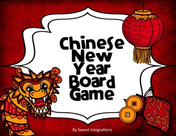 CHINESE NEW YEAR BOARD GAME