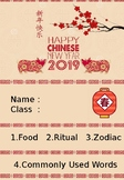 Chinese New Year Booklet