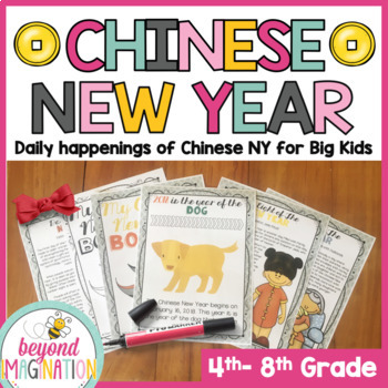 Chinese New Year Booklet for Big Kids