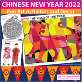 Chinese New Year 2018 coloring pages and art activity pack