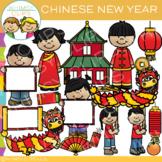 Chinese New Year Clip Art {Holidays Around the World Clip Art}