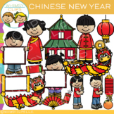 Chinese New Year Clip Art {Holidays Around the World Clip Art}