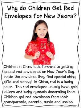Chinese New Year | Close Reading for Primary | Kindergarten & First Grade