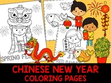 Chinese New Year Coloring Pages - The Crayon Crowd, Lunar New Year