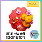 Chinese/Lunar New Year Colour By Note