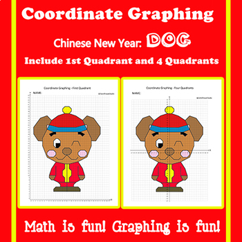 Chinese New Year Coordinate Graphing Picture:Zodiac Dog