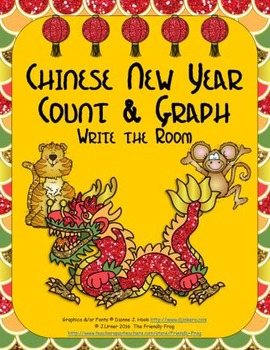 Chinese New Year Count & Graph: Write the Room