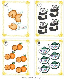 Chinese New Year Counting, Addition & Subtraction: Write the Room