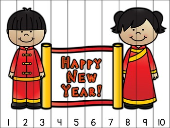 Chinese New Year Counting Puzzles