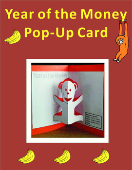 Chinese New Year Craft: Year of the Monkey Pop-up Card