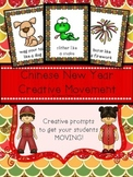 Chinese New Year: Creative Movement Cards