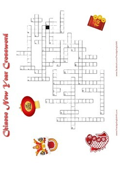 Chinese New Year Crossword - Difficult