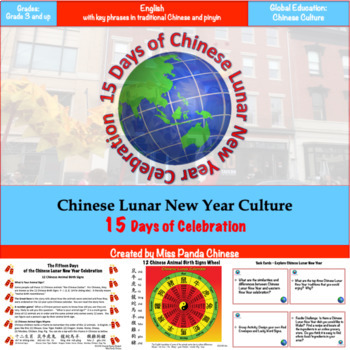 Chinese New Year Culture and Tradition 15 Days of Celebration