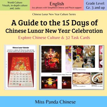Chinese New Year Culture and Tradition 15 Days of Celebration (Eng-SimplifiedCh)