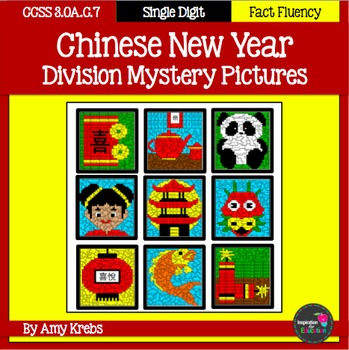 Chinese New Year Division Mystery Pictures