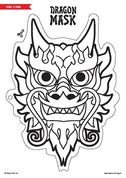 Chinese New Year Dragon Mask