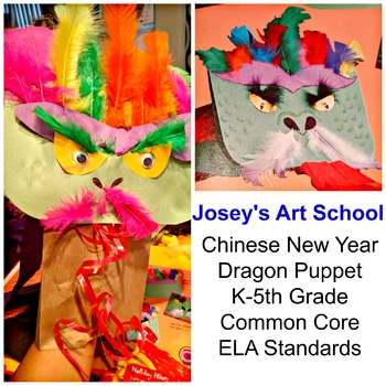 Chinese New Year Dragon Puppet History Lesson Art Project Discussion