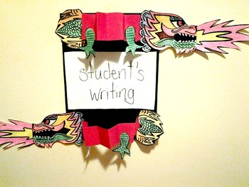 Chinese New Year- Dragon Writing (Accordion Style)