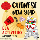 Chinese New Year ELA Activities ~ Holidays Around the Worl
