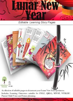 EYLF Lunar New Year Editable Pack