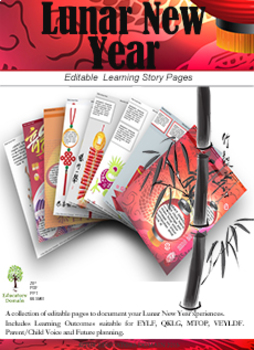 Chinese New Year Editable Pack