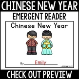 Chinese New Year Emergent Reader