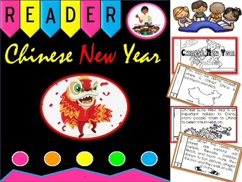 Chinese New Year Emergent Reader