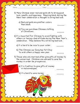Chinese New Year: Fact and Opinion