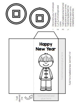 Chinese New Year Flip Book and Crafts