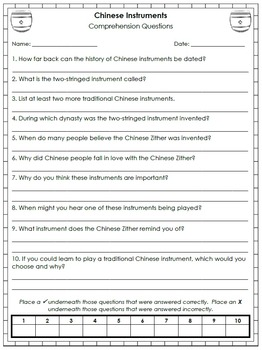 Chinese New Year Fluency Passages